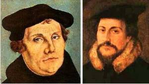 Differences Between Luther and Calvin