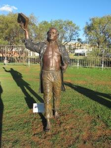 Statue of Van der Kemp