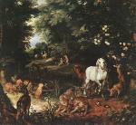 Jan Brueghel (I) - The Original Sin
